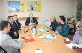 The Visit to Our Association From AK Party Maltepe District Presidency